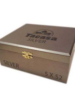 tacasa silver cigar box